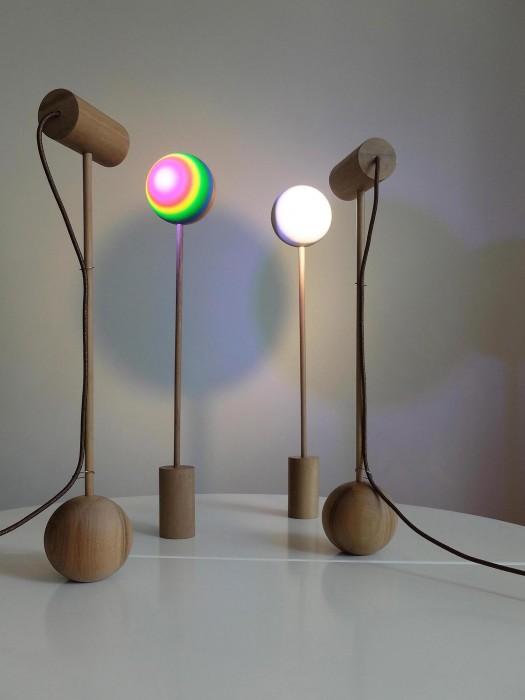Nouveaux dispositifs lumineux, Les Inséparables